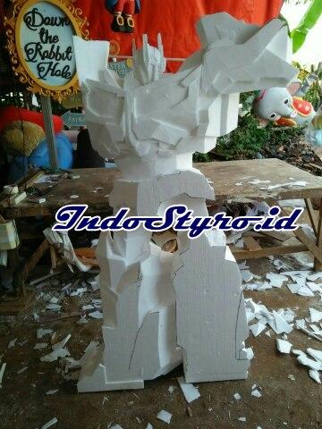 Cara Membuat Patung dari Styrofoam