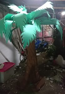 jual dan produksi pohon kurma styrofoam