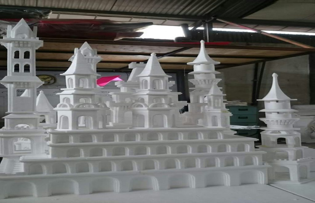 miniatur-masjid-dari-styrofoam