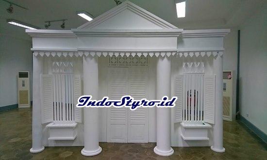 jasa pembuatan replikan bangunan dari styrofoam murah