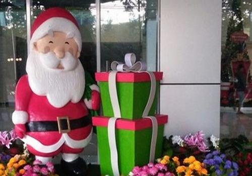 Patung Santa Claus