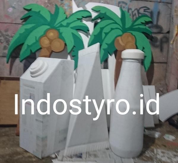 Harga Mockup Styrofoam Untuk Berbagai Produk