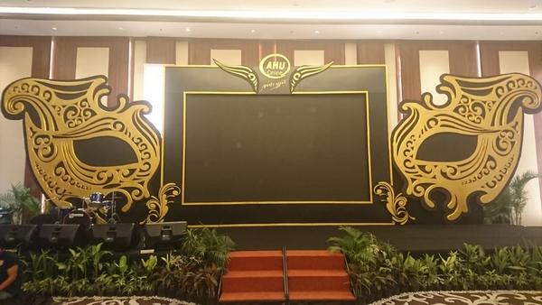 dekorasi ruangan ulang tahun perusahaan